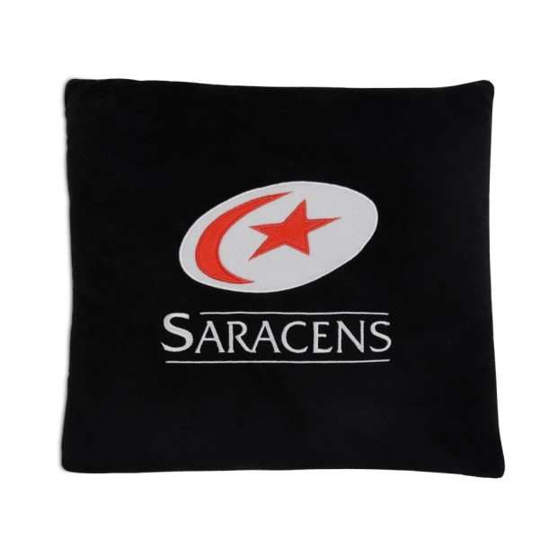 Saracens Applique Cushion
