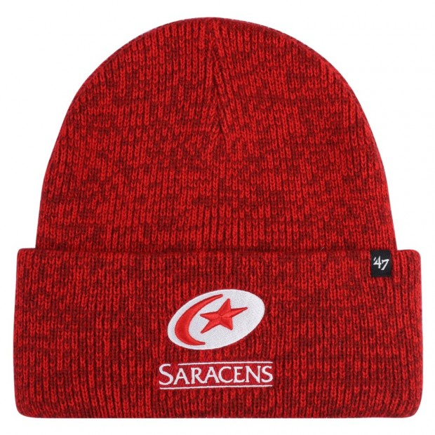 Saracens 47 Brand Red Brain Freeze Knit Hat