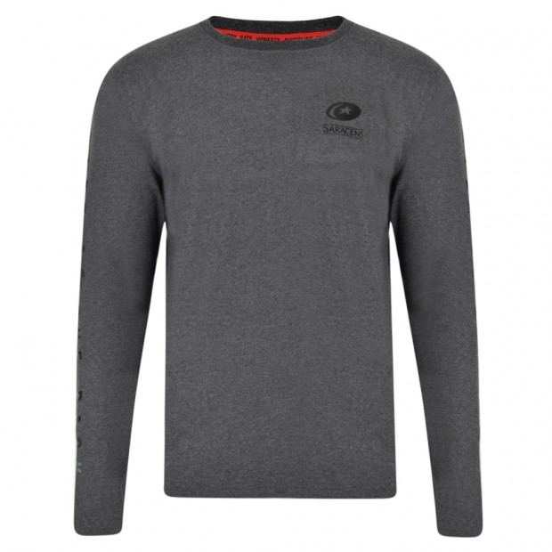 Saracens Junior Long Sleeve Tee
