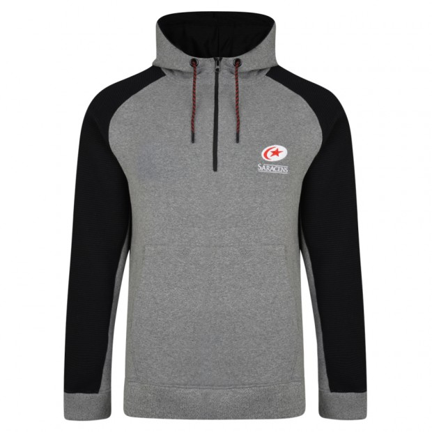 Saracens Pitch Hooded Sweatshirt