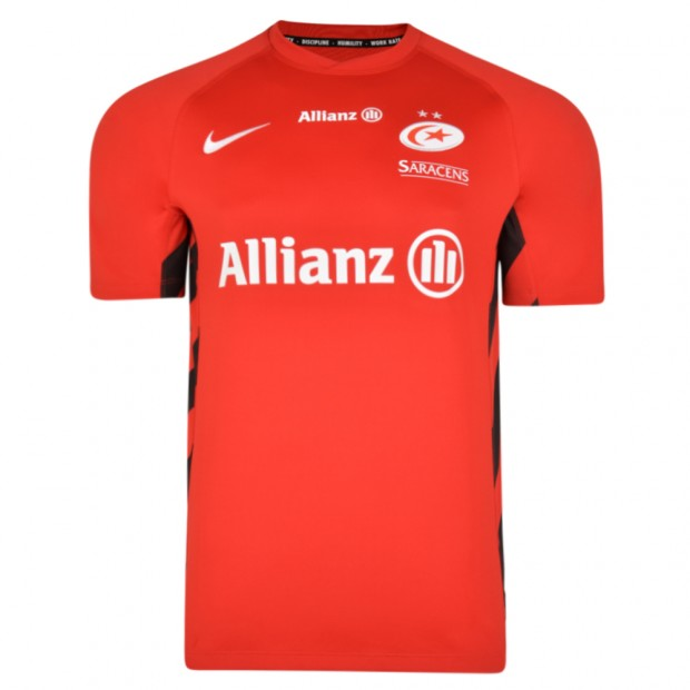 Saracens 18/19 Nike Away Stadium Rugby Shirt
