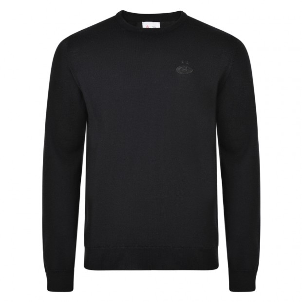 Saracens Merino Wool Crew Neck Sweater