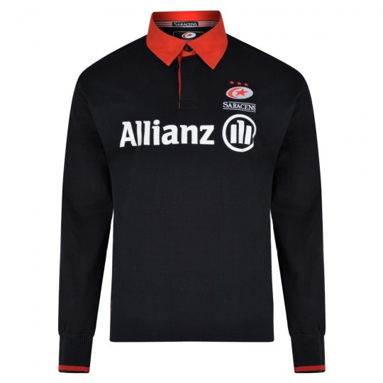 Saracens 19/20 Adult L/S Rugby Shirt