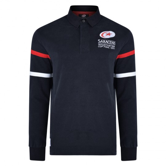 Saracens Heritage 1998 Rugby Shirt