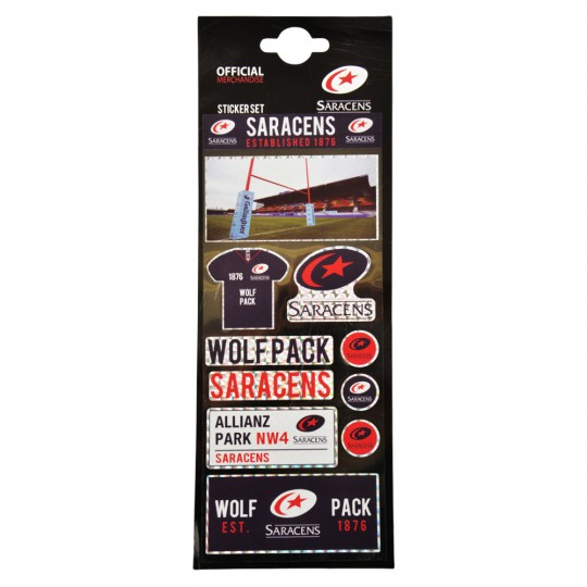 Saracens Sticker Set