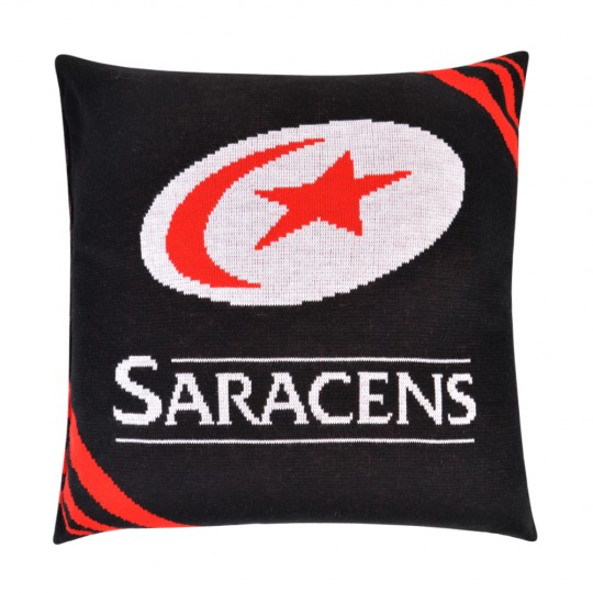 Saracens Knitted Cushion