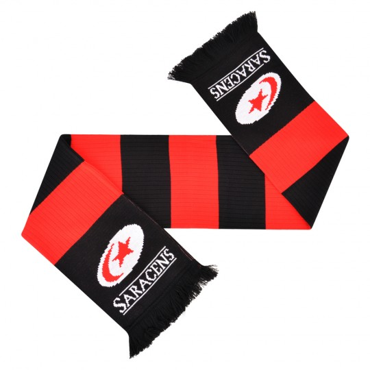 Saracens Needle Out Bar Scarf