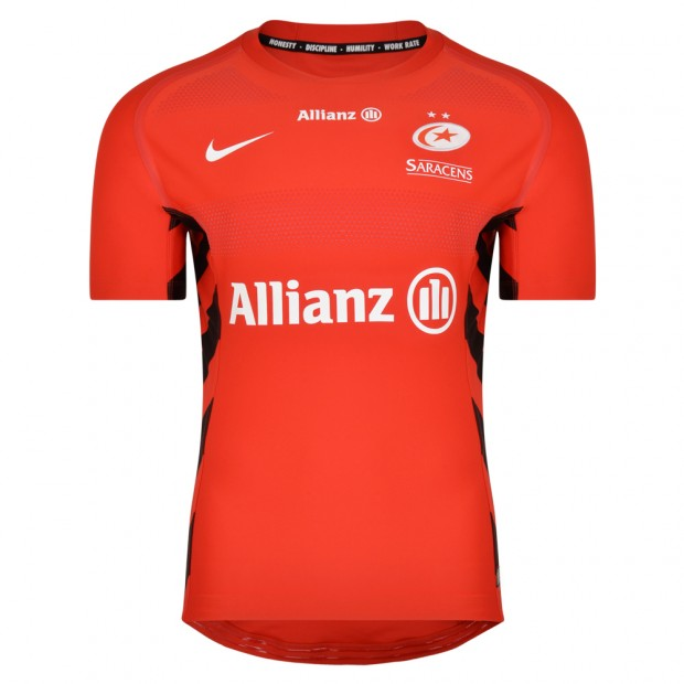 Saracens 18/19 Nike Euro Final Match Rugby Shirt