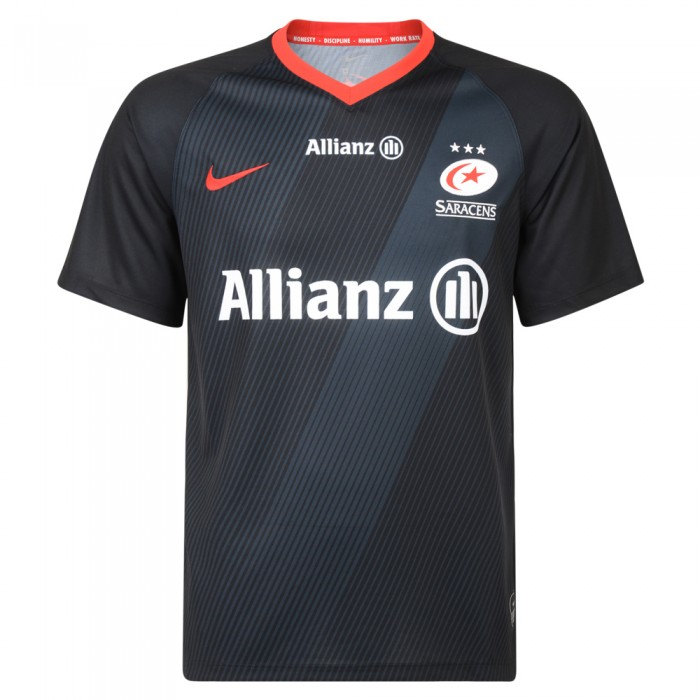 Saracens 19/20 Home Stadium Rugby Shirt