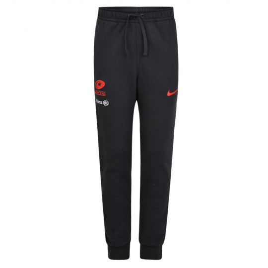Saracens 19/20 Nike Junior Cuff Jogger - Black