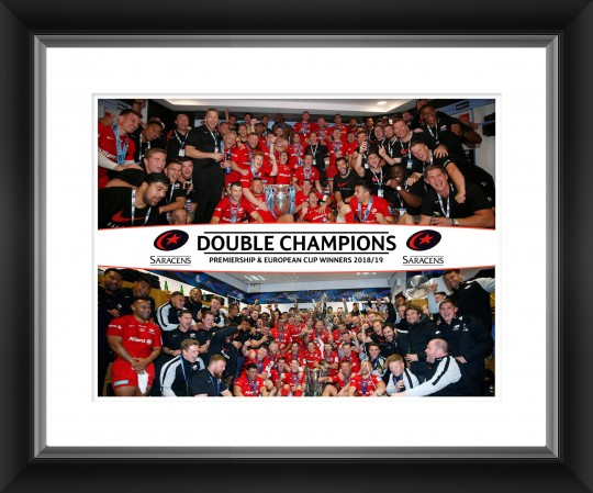 Limited Edition Saracens Champions Photo Frame