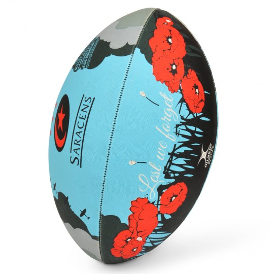 Saracens Remembrance Rugby Ball
