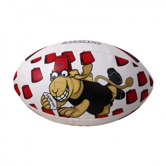 Saracens Fez Rugby Ball