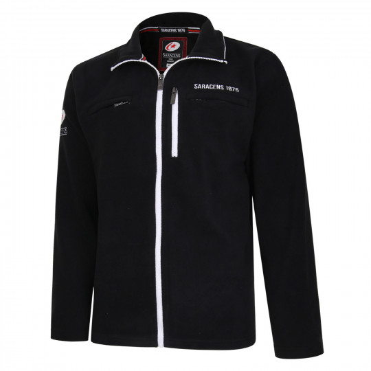 Saracens Zip Pocket Fleece