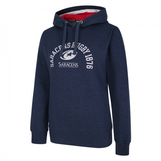 Saracens Womens College Graphic Hoodie