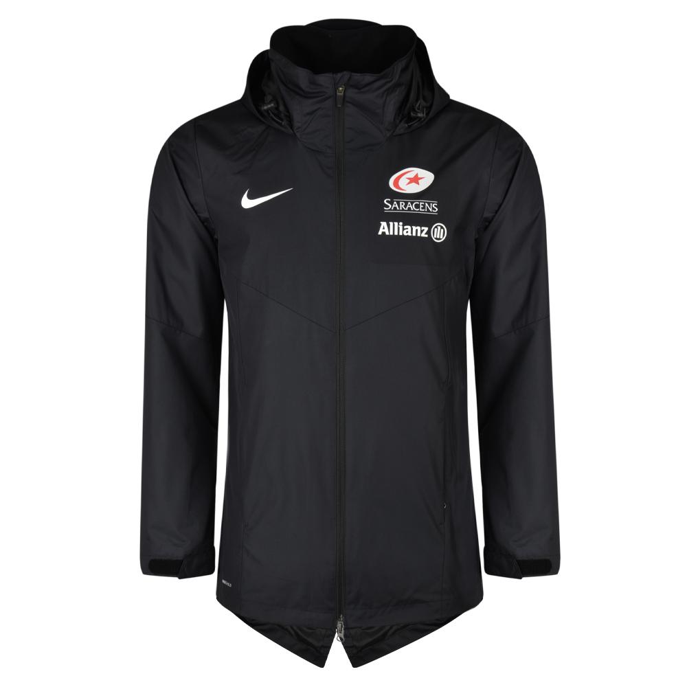 208c39a22 Saracens 18/19 Nike Junior Sideline Rain Jacket