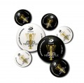 Saracens European Winners 2 Pin Badge Set