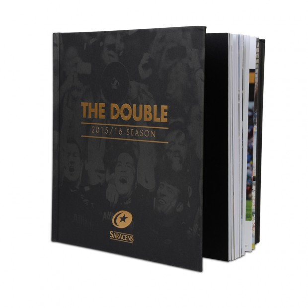 Saracens Double Winners Book  2016