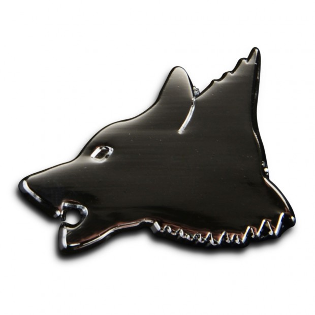Saracens Wolf Pin Badge