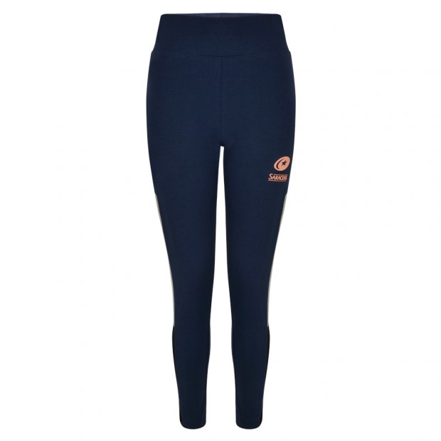 Saracens Womens Navy Leggings