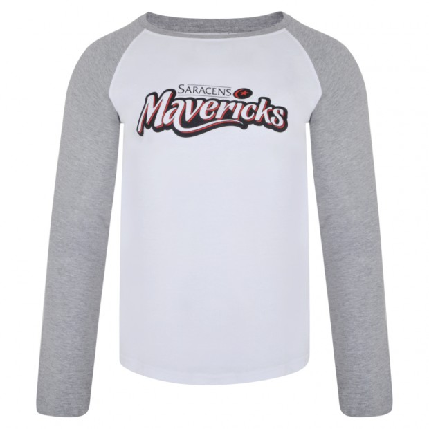 Saracens Mavericks Womens Long Sleeve Tee