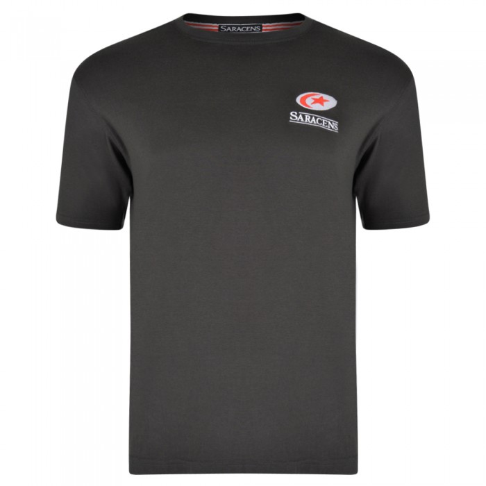 Saracens Adult Small Crest Tee