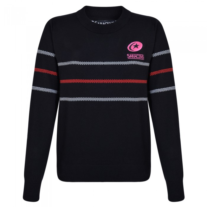 Saracens Ladies Knitted Sweat