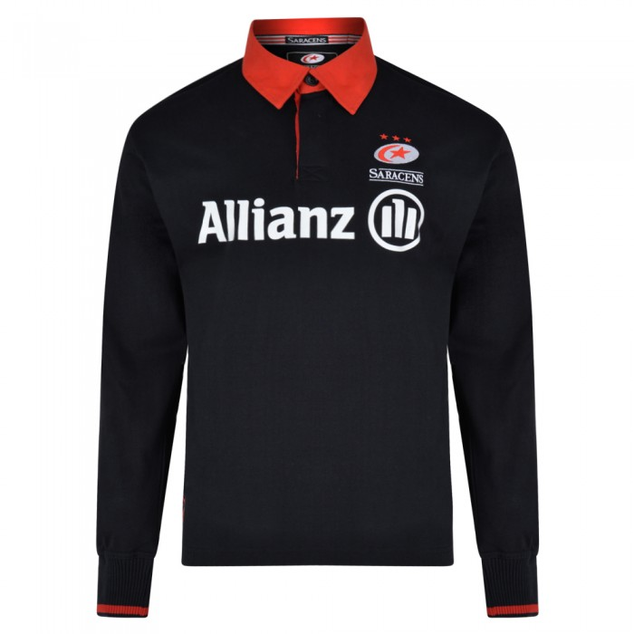 Saracens 19/20 Ladies L/S Rugby Shirt