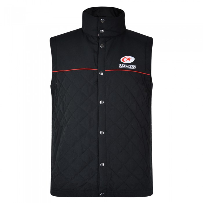 Saracens Junior Button Gilet