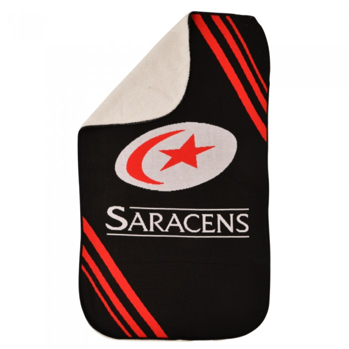 Saracens Fleece Throw