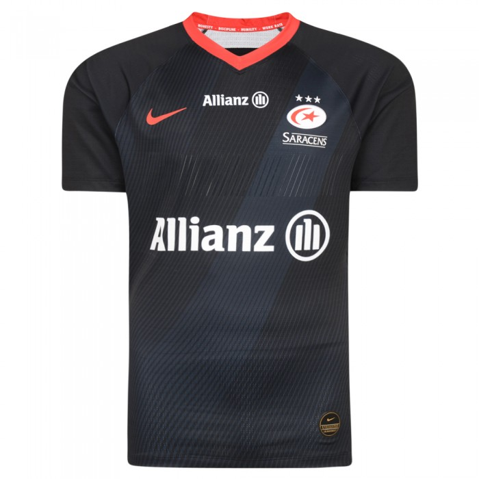 Saracens 19/20 Home Match Rugby Shirt