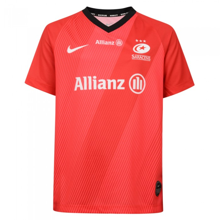 Saracens 19/20 Away Stadium Rugby Shirt