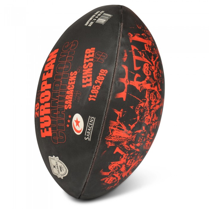 Saracens European Champions Rugby Ball