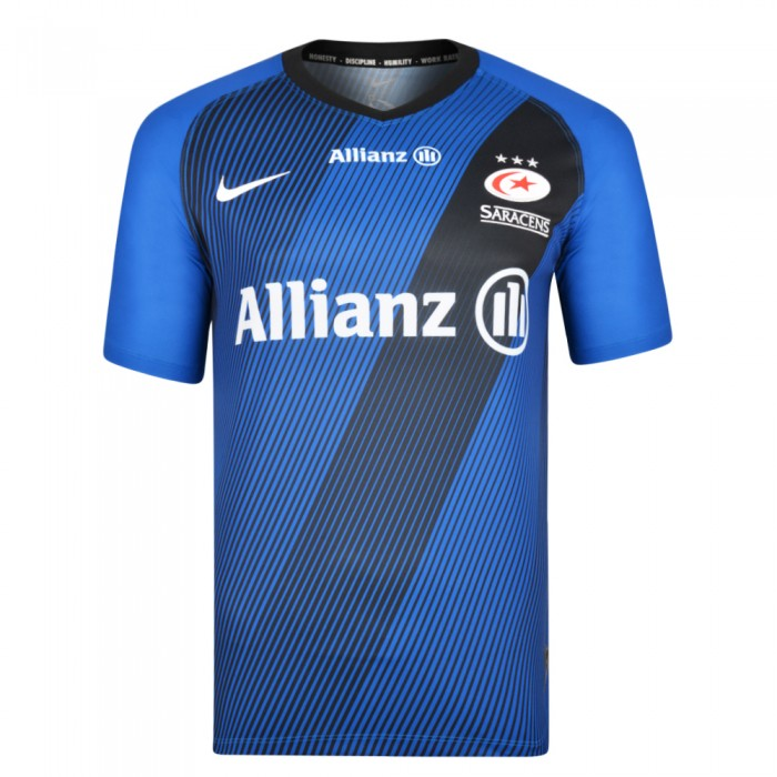 Saracens 19/20 Junior Allianz Showdown Jersey