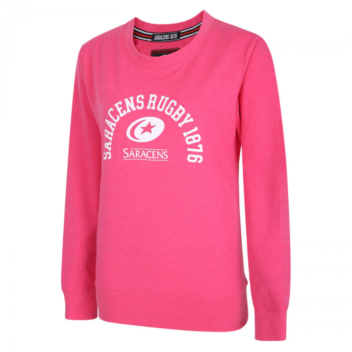 Saracens Womens College Graphic Sweater
