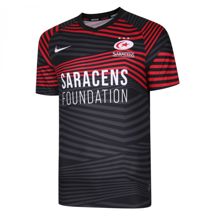 Saracens 20/21 Nike Junior Home Replica Jersey